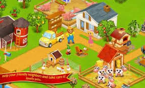 download game farm village mod apk revdl farm town happy city day story 2 30 apk mega mod android