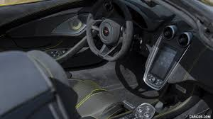 mclaren supercar interior 2018 mclaren 570s spider color sicilian yellow interior