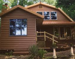 Log Cabin Home Interiors by Log Cabin Exterior Siding Streamrr Com