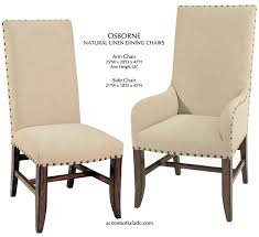 linen dining chair luxurious linen dining room chairs home and interior home