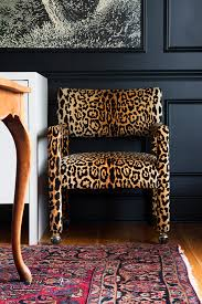 Leopard Beach Chair When To Ignore The Trends Leopard Chair Dark Walls And Oriental