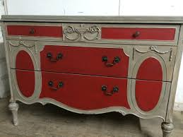 3 Vintage Furniture Makeovers For by Handpainted Victorian 3 Drawer Dresser Annie Sloan French Linen