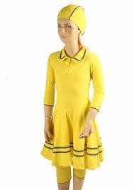 yellow polo modest swimwear juniors sea secret