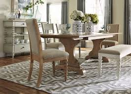 Trestle Dining Room Table by Trestle Table With Solids Poplar And Sand Finish