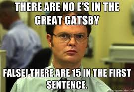 That Would Be Great Meme Maker - dwight meets the great gatsby great gatsby memes popsugar tech