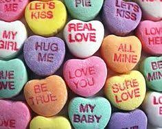 valentines heart candy sayings best and worst candy heart sayings of all time vintage cards