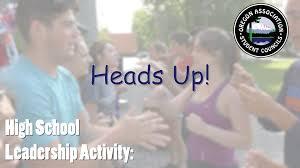 heads up high leadership game youtube