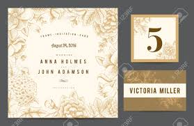 Weeding Invitation Card Set Backgrounds To Celebrate The Wedding Invitation Card Table