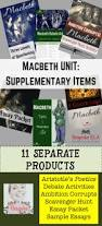 macbeth bundle supplementary materials for any macbeth unit