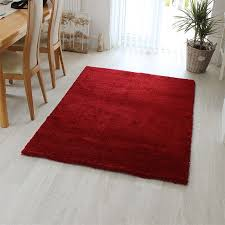 Large Rugs Uk Only Buy Drift Rug Dr01 Red Colour Deep Shaggy Land Of Rugs
