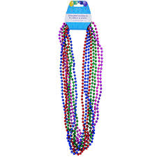 mardi gras bead bags 1 mardi gras party supplies dollartree