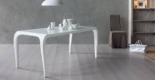 tavoli da design tavolo da pranzo mod art禮 di sedit fisso e allungabile in vetro