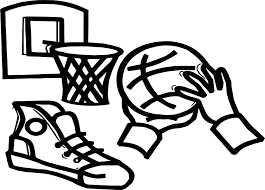 playing basketball basket hand ball coloring page wecoloringpage