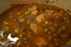 cuisiner du veau en morceau sauté de veau marengo dans la cuisine de françoise