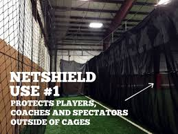 Basement Batting Cage by Netshield U2013 New Heavy Duty Batting Cage Impact Mesh