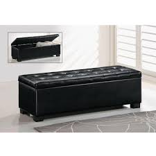 Storage Bench Home Decorators Collection Walker Black Storage Bench 7400600210