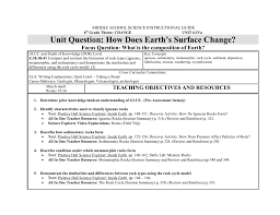 science core curriculum guide