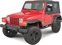 rugged ridge 11640 30 hurricane fender flares for 97 06 jeep