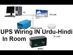 automatic ups wiring for single room in urdu u0026 hindi youtube