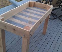 Raised Garden Beds From Pallets - building raised garden beds from pallets u2013 mangut net