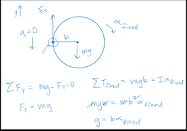 rotational motion torque problems physics 1 exam solution phyzzle
