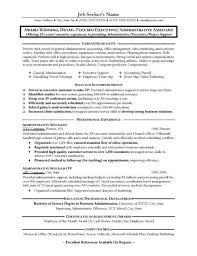 administrative assistant resume sample selected accomplishments