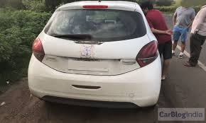 peugeot cars in india peugeot 208 india launch date price in india specifications spy