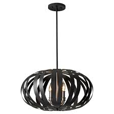 zuo amethyst 1 light rust ceiling large pendant 98242 the home depot