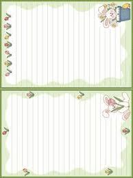 thanksgiving stationary sets printables patterns