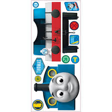 thomas the tank engine giant removable wall decal with hooks