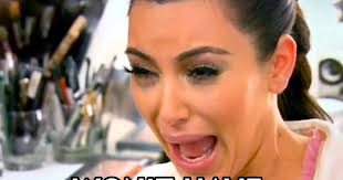 Crying Memes - kim kardashian exposes the truth behind that unflattering meme mtv