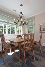 Rectangular Shade Chandelier Rectangular Shade Chandelier Dining Room Contemporary With Arched