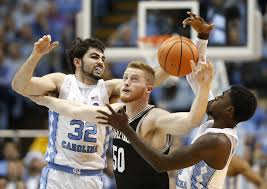Unc Basketball Meme - college basketball wofford upsets no 5 north carolina in chapel
