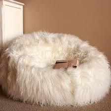 white fur bean bag chair militariart com