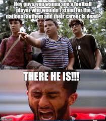 Kapernick Meme - image result for colin kaepernick national anthem memes colin