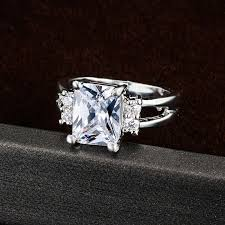 big crystal rings images Crystal shop brand design delicate shiny square big stone austrian jpg