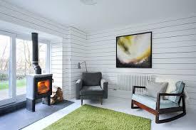 Scandinavian Livingroom Heath Cottage Contemporary Refurbishment Living Area
