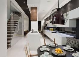 modern house interior in white and black theme bellwoods