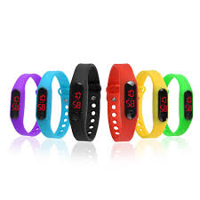 silicone bracelet watches images Mini silicone bracelet watch smart watch silicone digital led jpg