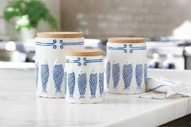 kitchen canister sets ceramic white modern kitchen with glass canister set choosing the best