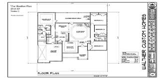 customizable floor plans walther custom homes customizable floor plans