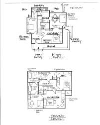 floor plans delaunay house