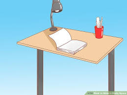 How To Make Your Own Desk Calendar How To Make A Study Space 15 Steps With Pictures Wikihow
