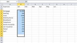 Best Budget Spreadsheet How To Budget Your Money In Excel Tech Advisor