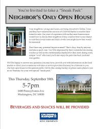 open house invitation say yea to the neighbors at open houses carp s corner