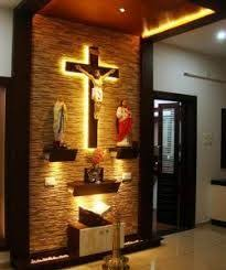 Christian Pooja Room Designs