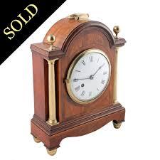 Mantel Clocks Antique Georgian Antique Mantel Clock Mahogany Mantel Clock