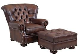 Lounge Chair And Ottoman Set Design Ideas Furniture Surprising Home Taranto Modern Brown Leather Lounge