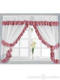 Cherry Kitchen Curtains by Retro 50 U0027s Kitchen Cafe Curtains Red Set Of 2 By Katherinemck