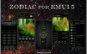 zodiac themes for android zodiac fhd emui 5 theme thespandroid